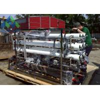 Wholesale Containerized Yacht Desalination Equipment , Small Marine Water Treatment Systems from china suppliers