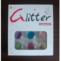 China glitter tattoo kit on sale