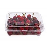 Wholesale High Clear Cherry Box Disposable Plastic Fruit containers from china suppliers