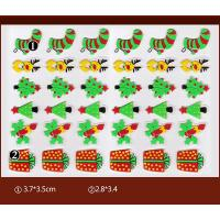 Wholesale Christmas Gift PET Chocolate Transfer Molds For Christmas Party Cupcake Toppers from china suppliers