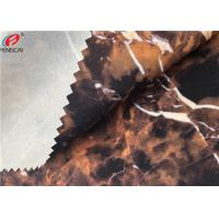 China Ester Marble Printing 95 Polyester 5 Spandex Fabric Bonded With TPU Film on sale
