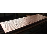 Wholesale Wear Resistance Copper Mould Plate For Continuous Casting Machine , ISO Certification from china suppliers