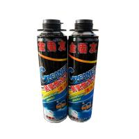 600ml Polyurethane Foam Cleaner For Removing Uncured Pu Foam Good Dissolving Force