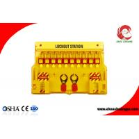 Wholesale Industrial Combination Loto Safety Lockout Station with 10 padlocks Plastic PP Material from china suppliers