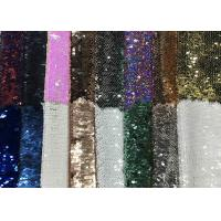 Wholesale Reversible Colorful Mermaid Sequin Fabric , Silver Sequin Material Custom Made from china suppliers