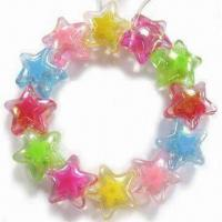 Wholesale Children's Jewelry Bracelet, Customized Designs are Welcome, Made of Acrylic Beads from china suppliers