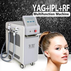 Wholesale Elight IPL RF ND YAG 3 In 1 Multifunction Skin Care Machine from china suppliers
