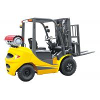 Wholesale LPG 2.5 Ton Four Wheel Forklift 18km / H Travel Speed CE Certification from china suppliers