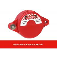 Wholesale ABS Industrial Suitable for 25mm - 64mm Safety Gate Valve Lockout from china suppliers