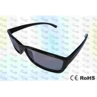 Wholesale 3D TV and Cinema Use Circular polarized 3D video eyewear glasses from china suppliers
