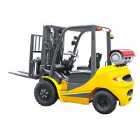 Wholesale Speed 20km / H Dual Fuel Forklift 3.5 Ton , LPG Forklift Truck With Clear Visibility from china suppliers
