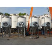 Buy cheap 3000L Beer Brewing Equipment Beer Fermentation Tanks 30BBL SUS304 from wholesalers