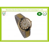 Wholesale Silver Strap Men Digital Wrist Watches Silver Yellow With Printed Logo from china suppliers