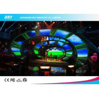 Buy cheap 500*1000Mm full color led screen rental or fixed installation die casting aluminum product