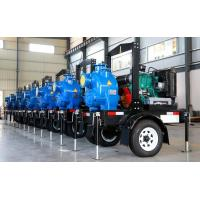 Wholesale Trailer Mobile Horizontal air cooling diesel engine fire pump self-priming water Single Suction from china suppliers