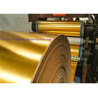 Buy cheap Aluminium Foil Paper with Beautiful Pattern Coated Golden Color For Cake Board from wholesalers