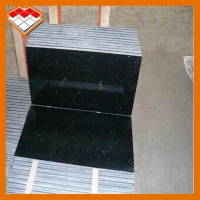 Wholesale Black 200mm Granite Tiles Slabs For Kitchen Counter Tops from china suppliers