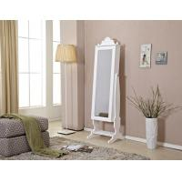 Wholesale Floor Mirror With Jewelry Storage , Tilted Mirror Jewelry Cabinet from china suppliers