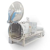 Wholesale Automatic Open Door Spray Autoclave for Packaged Food & Canned Food from china suppliers