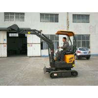 China 0.8Tonne Mini Full Hydraulic Garden Small Space Used Crawler Excavator For Sale on sale