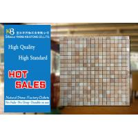 China Red Stone Pictures Marble Mosaic Tiles Marble Floor Tiles Design on sale