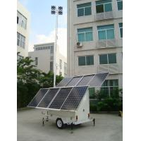 Wholesale Solar LED mobile light tower from china suppliers