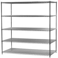"""Wholesale 5 - Layers Heavy Duty Storage Racks / Chrome Wire Mesh Shelving 18""""X30""""X64'' from china suppliers"""