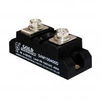 Buy cheap Single Dual In Line 1.3VAC 40A AC Solid State Relay With LED Indicator from wholesalers