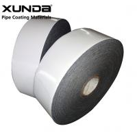 China PE Gas Pipe Insulation Tape , Black / White Color Wrapping Tape For Pipe on sale
