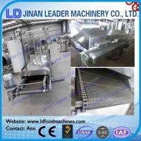 Wholesale Continuous Fryer For Snack Food Chinchin Deep Continuous Frying Machine from china suppliers