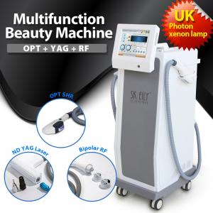 Wholesale 3 In 1 Permanent 60J/Cm2 Laser Hair And Tattoo Removal Machine from china suppliers