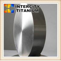 China China Factory Supply ASTM b381 GR5 titanium forged round target titanium disc in stock on sale
