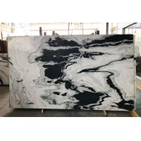 Wholesale Polished Marble Kitchen Tops Wall Honed Exotic Panda Black White Marble Slabs Tile Stone Block Floor from china suppliers
