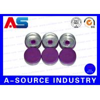 Wholesale ISO Approval Purple 20mm Flip Top Cap Pharmaceutical 10ml Bottle Flip Off Vial Caps from china suppliers