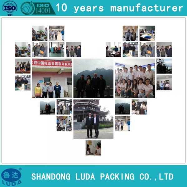 luda lldpe material clear stretch film polyethylene