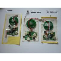 Wholesale Sound module for greeting cards.postcards,Recordable sound chip,voice module from china suppliers