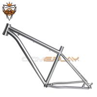 Wholesale Ti3AL2.5V / Ti6Al4V Titanium Mtb Frame , 27.5er Titanium Cyclocross Frame from china suppliers