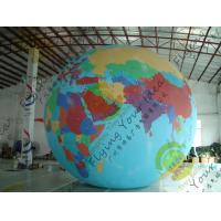 Wholesale Durable Huge Earth Balloons Globe , Inflatable Helium Filled Balloons from china suppliers
