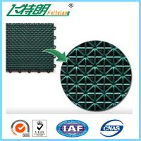 Wholesale Futsal Interlocking Rubber Floor Tiles Polypropylene Exercise Floor Mats from china suppliers