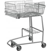 Wholesale Low Carbon Steel Wire Basket Disabled Shopping Trolley For Old / Disability Persons from china suppliers