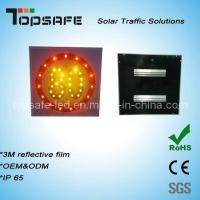 Wholesale Aluminum Flashing Solar LED Traffic Speed-Limited Sign LED Display from china suppliers
