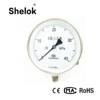 Wholesale hot sale stailess steel capsule pressure gauge manometer from china suppliers