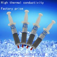 China Gray thermal conducting grease for LED and CPU heatsink on sale