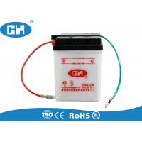 Wholesale White Small 6 Volt Motorcycle Battery , Custom 6v Sealed Lead Acid Battery from china suppliers