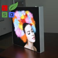 Buy cheap Wall Mounting LED Fabric Light Box Single Side Frameless For LED Shop Display from wholesalers