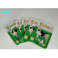 Wholesale Logo Customized Pet Food Pouch , Gree Color Food Packaging Bags For Animals from china suppliers