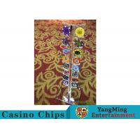 Wholesale Casino Acrylic Poker Chips Case Casino Chips Carrier For Round 40 - 42mm Chips from china suppliers