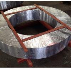 China Open Die Alloy Steel Forgings DIN ASTM EN Hot Rolling Ring Steel Flange on sale