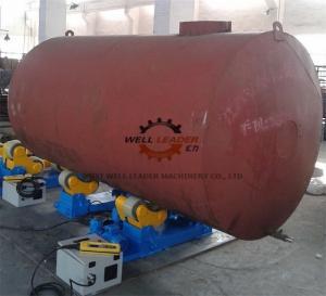 Variable Speed Self Aligned Pipe Welding Rotator 10 Ton Rotary Capacity
