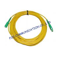 Wholesale High Stability Fiber Optic Cable Assembly , CATV System SM Simplex SC SC Patch Cord from china suppliers